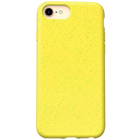 iPhone 7 Case - Grippy & Biodegradable by Case Hands™ iPhone Cases Case Hands iPhone 7 Yellow