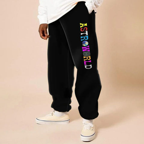 Mens fashion street style casual pants