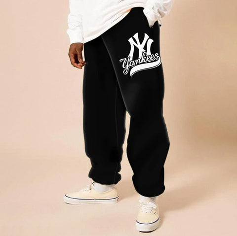 Mens fashion trend street style casual pants