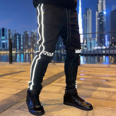 Sports reflective trousers