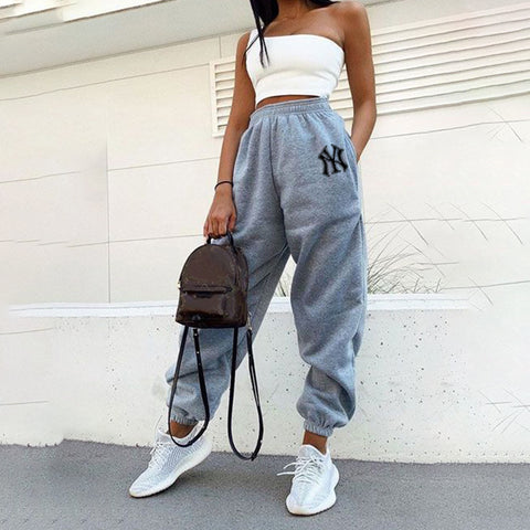 Basic printed sweatpants