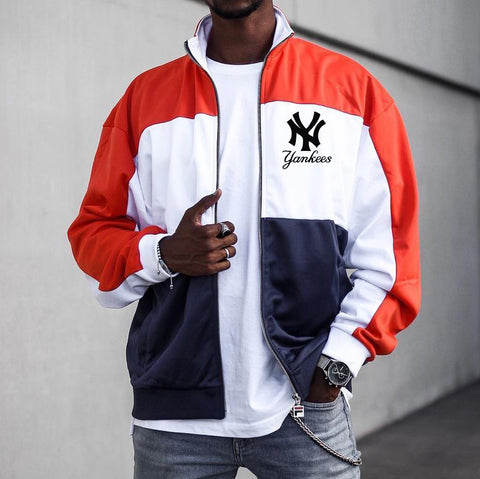 Street fashion baseball jacket