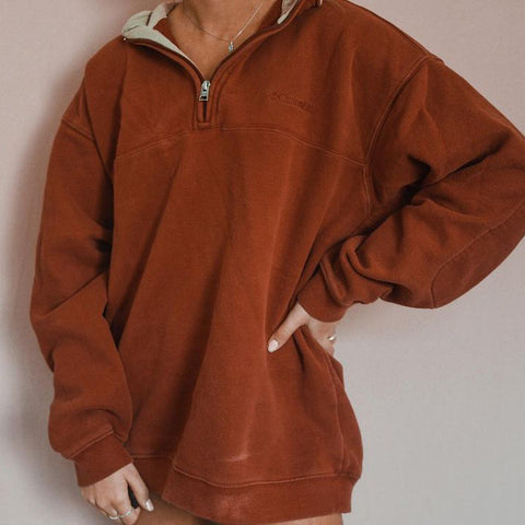 Modern Printed Color Long Sleeve Hoodie