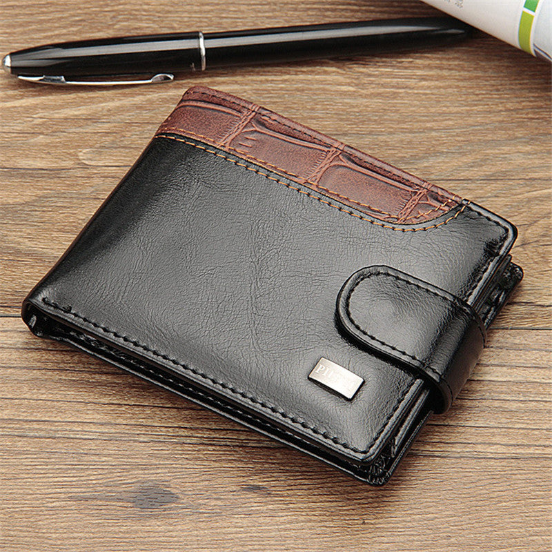 Casual cross-section magnetic buckle wallet clip