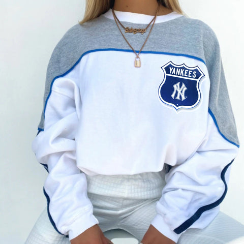 Basic sports long-sleeved sweatshirt