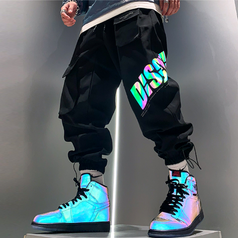 Functional reflective pants
