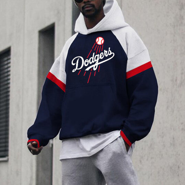 Men's fashion Dodgers sweatshirt