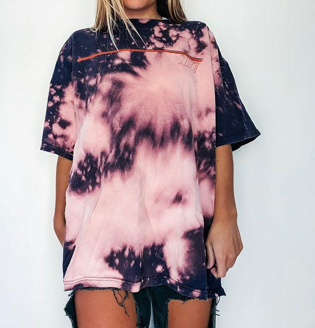 Casual loose gradient short sleeve T-shirt