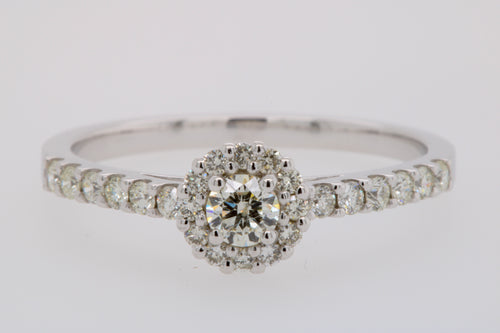 Engagement Halo set Ring
