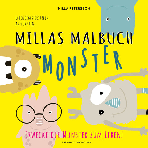 MILLAS MONSTER MALBUCH
