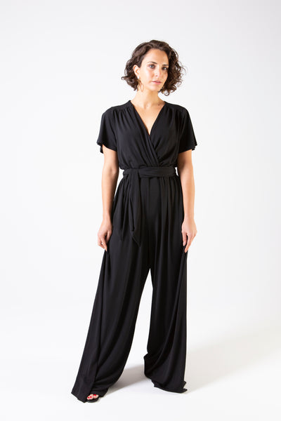Her Society - Cleo Jumpsuit - Black - By embodydenim