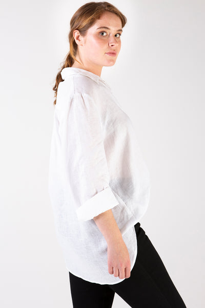 Her Society - Isla Linen Shirt - By embodydenim