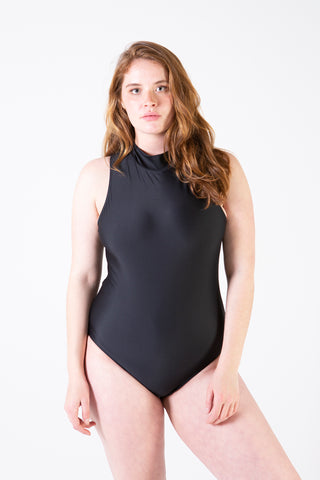 Her Society - Racer Cut Out - Black - By ALLERTON