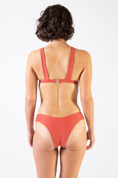 Her Society - Seamless Brazilian - Rust - By ALLERTON