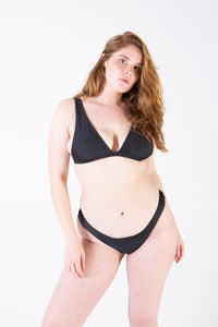 Her Society - Seamless Brazilian - Black - By ALLERTON