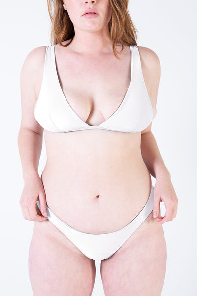 Her Society - Seamless Brazilian - White - By ALLERTON