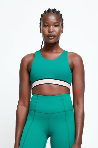 Her Society - The 'Elevate' Cross-Back Sports Bra - By THE UNLMTD
