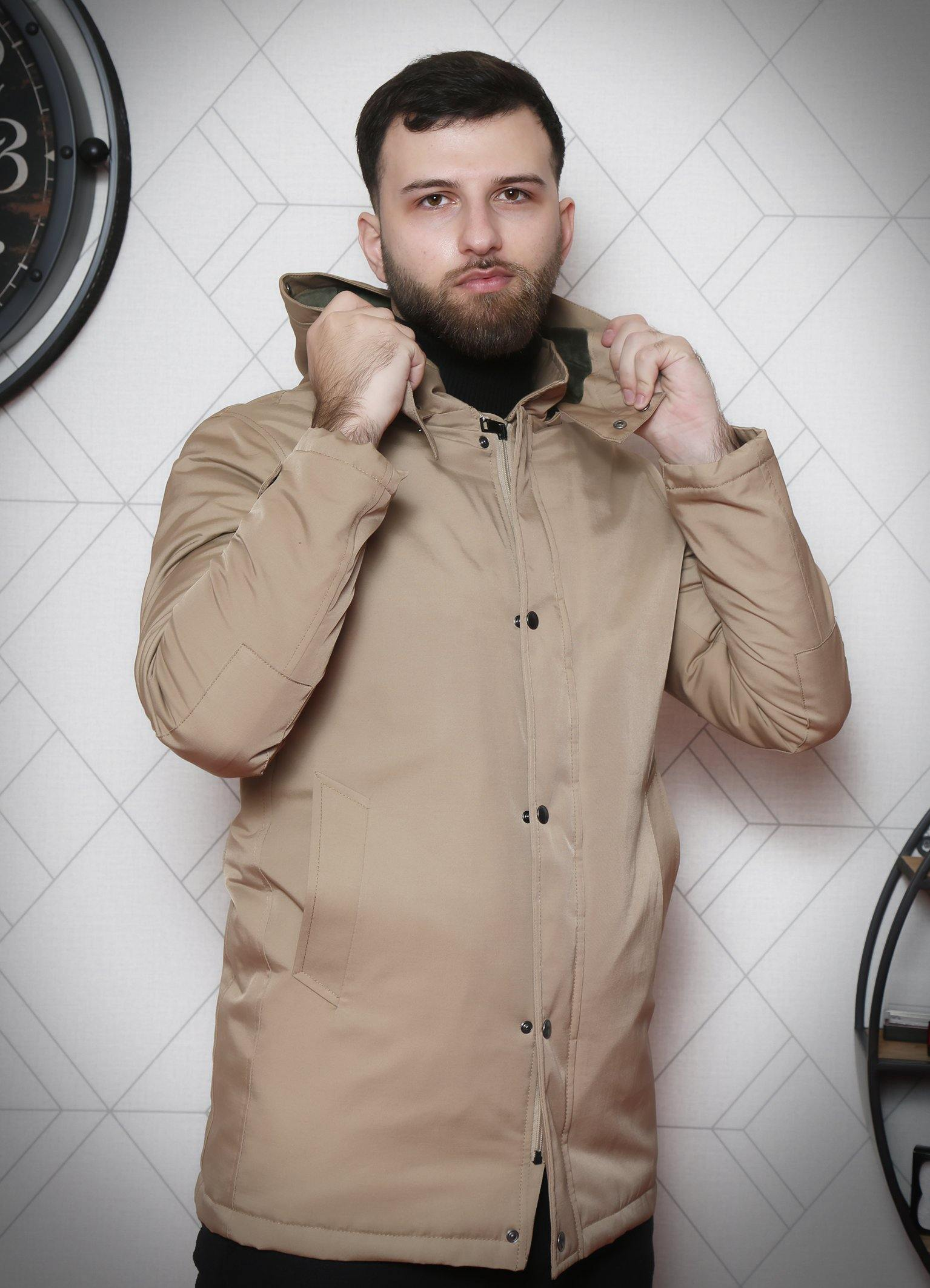 Manteau Long Beige Imperméable - Mavora