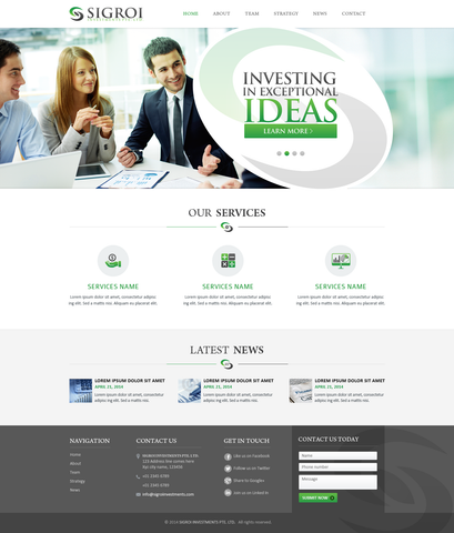 website for lawyers, financial institutions, dentists, chiropractors created by stan consulting