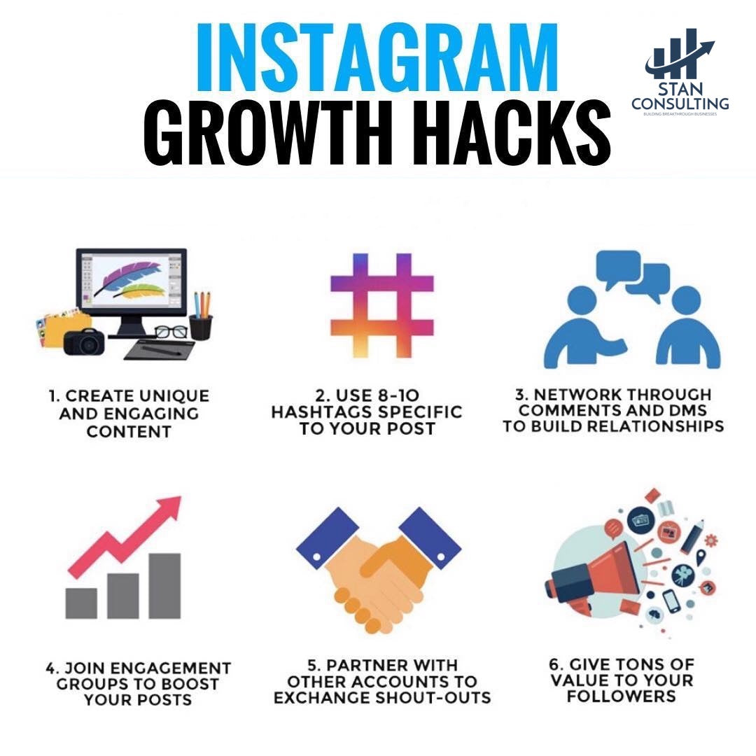 grow your instagram with stan consulting www.stanconsultingllc.com