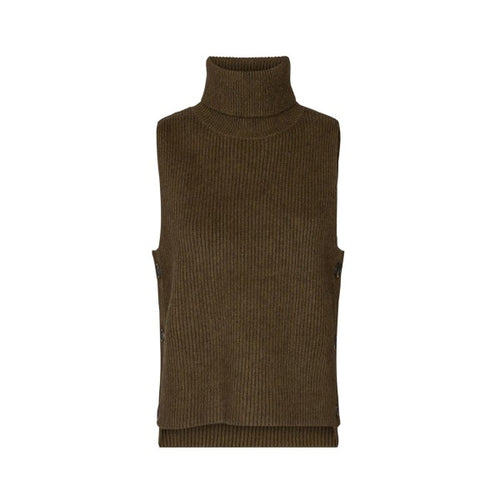 Row button vest army