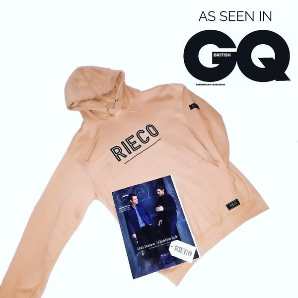 RIECO Featured in British GQ Magazine