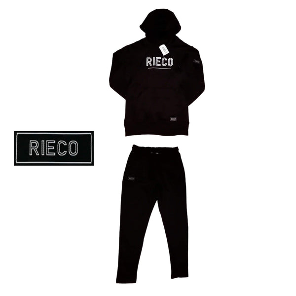 RIECO NS Tracksuit - Black/White