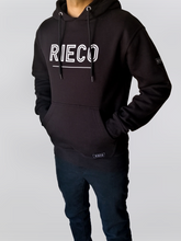 Load image into Gallery viewer, Rieco NS Hoodie Black/White