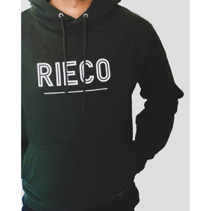 Rieco NS Hoodie Moss Green/White - Rieco Clothing