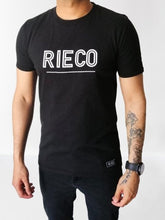 Load image into Gallery viewer, Rieco NS T-Shirt Black/White - Rieco Clothing