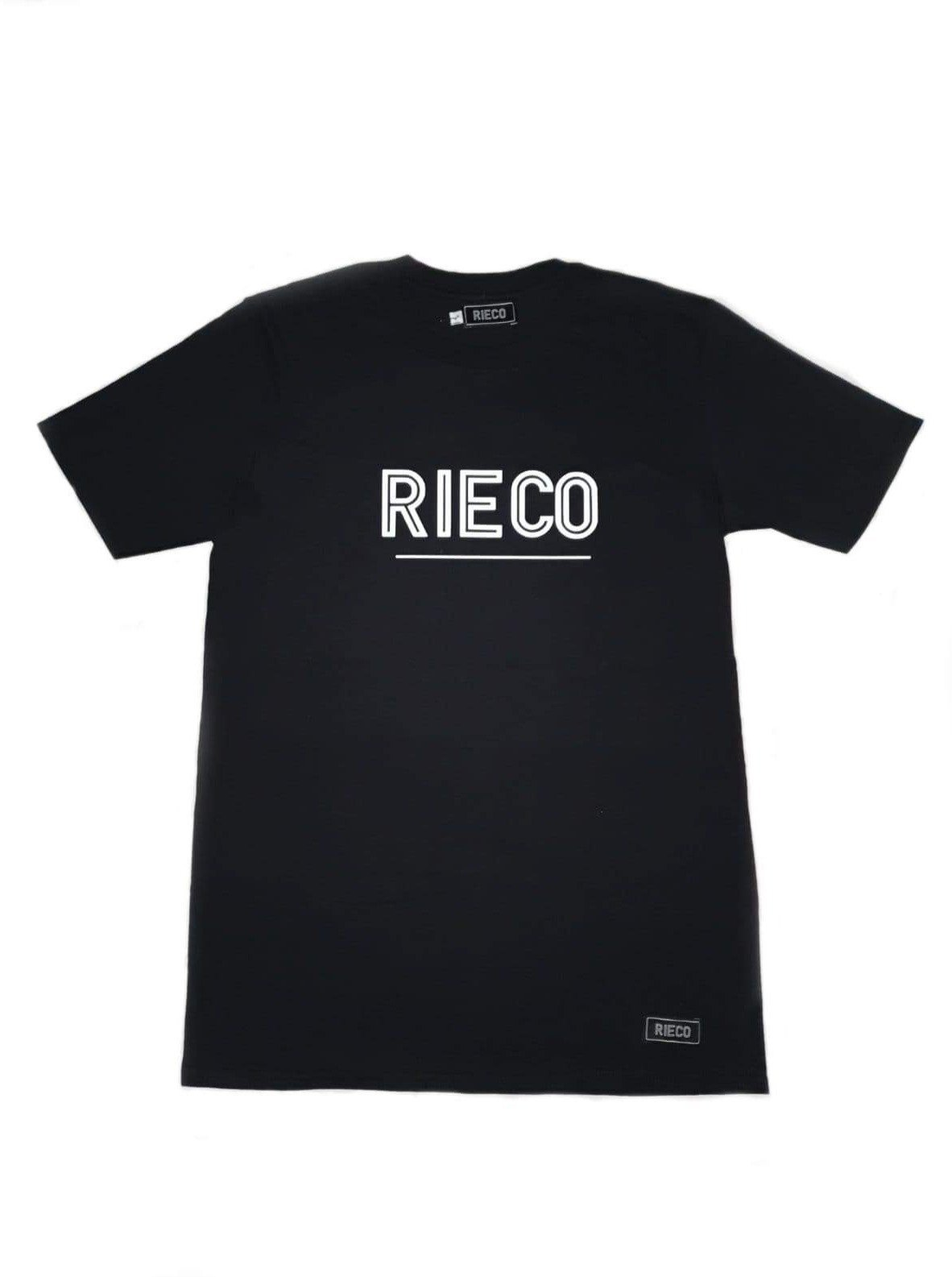 Rieco NS T-Shirt Black/White - Rieco Clothing