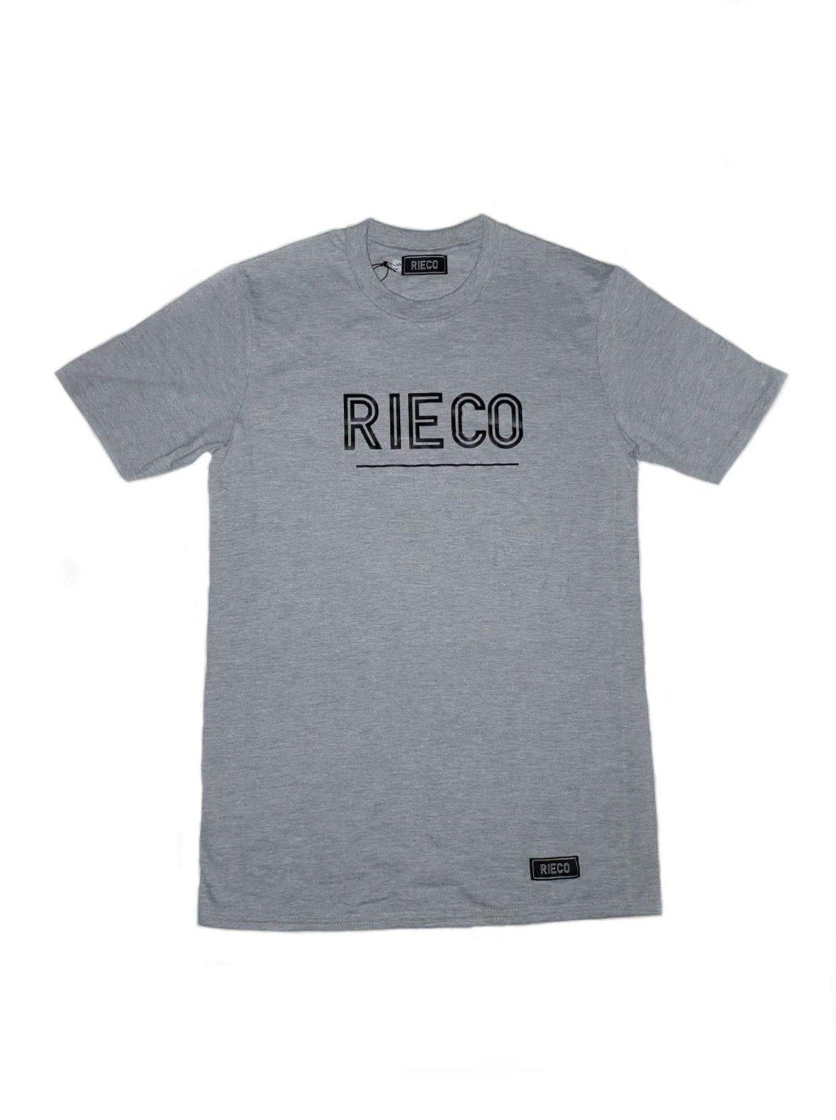 Rieco NS T-Shirt Grey/White - Rieco Clothing