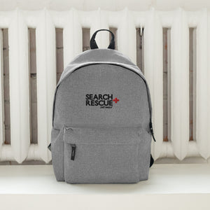 S+R Drygoods Embroidered Backpack