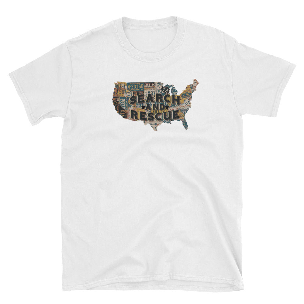 Search the Map Unisex T-Shirt