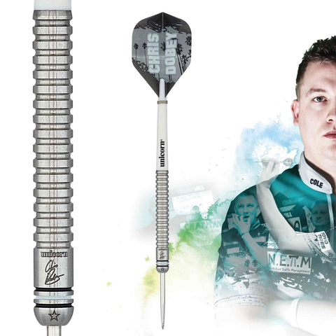 "Unicorn ""Hollywood"" Chris Dobey Maestro Steeldart Signature Player Darts Steeltip"