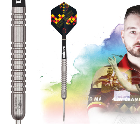 "Unicorn ""The Dreammaker"" Dimitri van den Bergh Maestro Darts Steeltip"