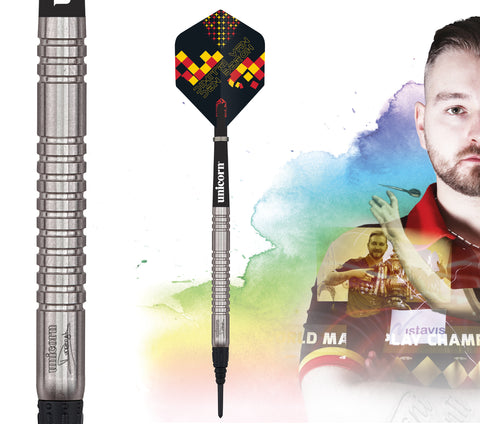 "Unicorn ""The Dreammaker"" Dimitri van den Bergh Maestro Darts 18g Softtip"