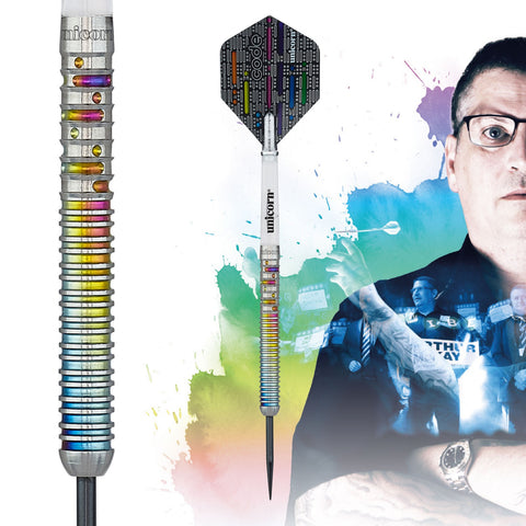 "Unicorn ""The Flying Scotsman"" Gary Anderson Code Players Steeldart Signature Darts Steeltip"