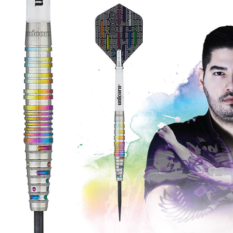 "Unicorn ""The Cobra"" Jelle Klaasen Code Players Steeldart Signature Darts Steeltip"