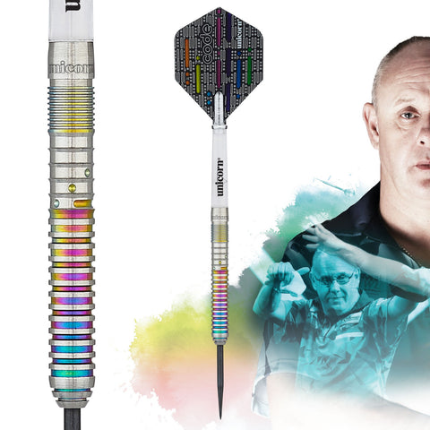 Unicorn Gary Anderson Code Players Steeldart in high quality 90% tungsten quality