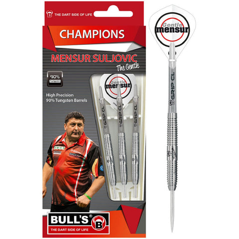 "BULL'S ""The Gentle"" Mensur Suljovic Champions Steeldart Signature Darts Steeltip"