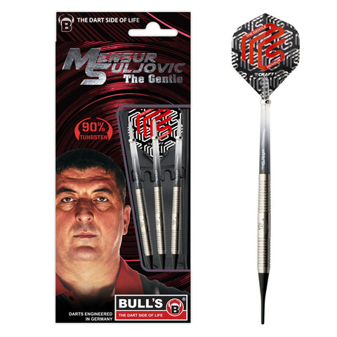 "BULL'S ""The Gentle"" Skala Suljovic Champions Softdart Signature Player Rzutki 18g Softtip"