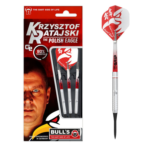 BULL'S Generation 2 Krzysztof Ratajski Softdart made of 90% Tungsten Wolfram Softtip