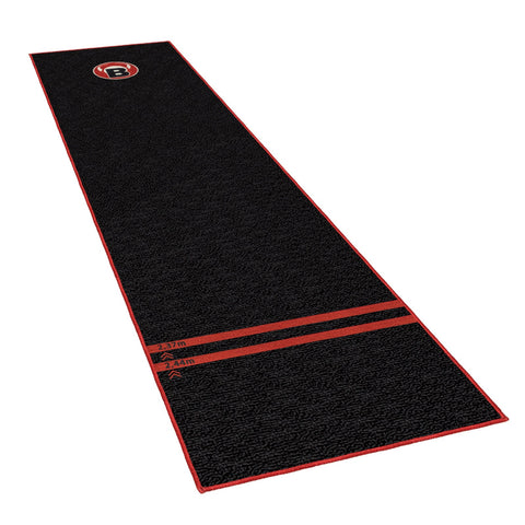 "BULL'S Carpet Mat ""170"" Black Dart Carpet Mat black"