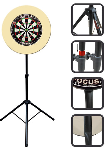 BULL'S Mobile Dartstand Stand Dart Stand Board Stand