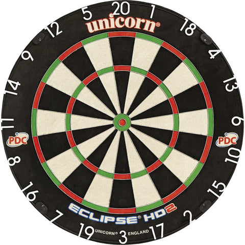 Unicorn Eclipse HD2 Pro - TV Edition Bristle Darts Board Dartscheibe Dartboard