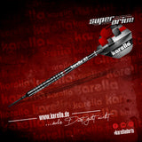 Karella SUPERDRIVE Softdart mit geradem Barrel und aus 90% Tungsten Softtip 18g / 20g