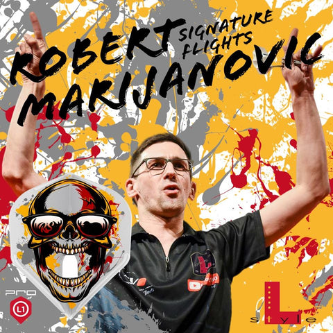 "L -Style - Signature Flights - Robert Marijanovic ""Robstar"" - PRO - L1 Standard Shape"