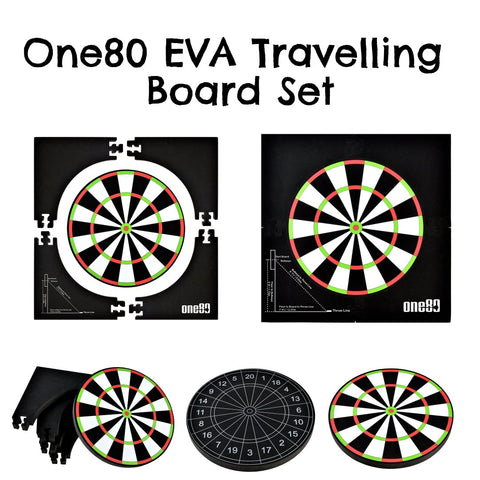 One80 EVA dartboard travel board training board soft dartboard