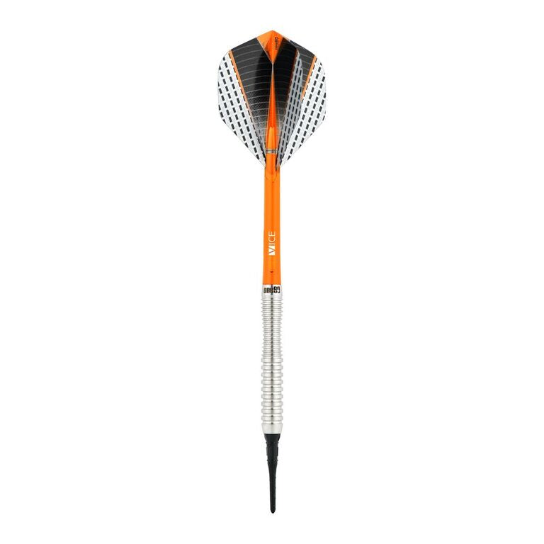 One80 Softdart Strike 03 mit Griffmulde Barrels aus 80% Tungsten Wolfram Softtip